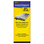 Fellowes Custom Keyguard Kit through Order Form