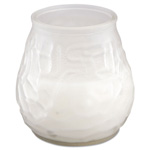 Fancy Heat Victorian Filled Candle, White Frost, 60 Hour Burn, 3-3/4 in