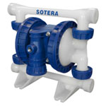 "Tuthill Transfer 1/2"" Polypropylene Air Operated Diaphragm Pump"