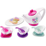 Fisher-Price Color Changing Treats Tea Set, 15 Pieces