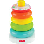 "Fisher-Price Rock-A-Stack Toy, 4-3/4""Wx5-1/10""Lx7-3/4"", Multi"