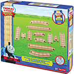 Fisher-Price Thomas/Friends Straight/Curved Exp Pack, Woodgrain