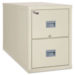 Fireking Patriot Insulated Two-Drawer Fire File, 20 3/4w x 31 5/8d x 27 3/4h, Parchment