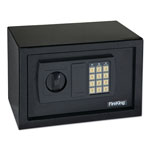 Fireking HS1207 Gary Personal Safe with Bolt Down Kit for Wall or Floor, Code Entry, Light Gray