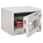 "Fireking 1-Hour Fire Safe, Electronic Lock,16-1/2""x14""x11-3/4"", WE"