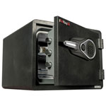 Fireking One Hour Fire and Water Safe with Electronic Lock, 2.8 cu. ft., Graphite