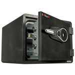 Fireking One Hour Fire and Water Safe w/Biometric Fingerprint Lock, 2.8 cu. ft, Graphite