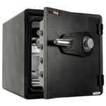 Fireking One Hour Fire and Water Safe with Combo Lock, 3.66 cu. ft., Graphite