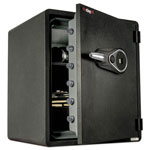 Fireking One Hour Fire and Water Safe with Electronic Lock, 5.50 cu. ft., Graphite
