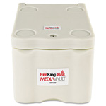 "Fireking MV1000 White MediaVault Insulated, UL Fire Rated, 11 5/8""w x 17 1/2""d x 10 1/2""h"