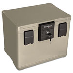 Fireking Fire and Waterproof Chest, 16w x 12-1/2d x 13h, Taupe