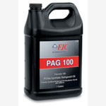 FJC PAG Oil, Refrigerant Oil, Viscosity 100, Synthetic, for R134a Only, Gallon Bottle
