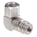 FJC 90 Degree High Side R-134a Service Port Adapter