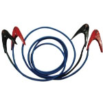 FJC 2 Gauge, 25' 600 AMP Parrot Clamp Professional Booster Cables