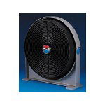 "Lakewood Engineering 20"" 3 Speed, 180 Pivot, High Tech Air Circulator, Plastic, Charcoal/Gray"