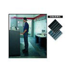 "Crown Mats & Matting Vinyl Floor Mat, 3"" x 30"", Black"