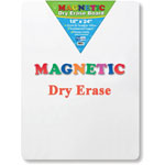 "Flipside Magnetic Dry Erase Board, 18"" x 24"", White"