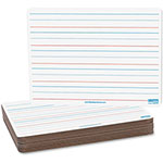 "Flipside Magnetic Dry Erase Board, Ruled, 9"" x 12"", 12/PK, RDBE"