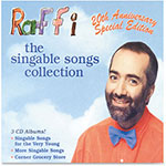 Flipside Raffi The Singable Songs Collection, 3 Disc, Ast