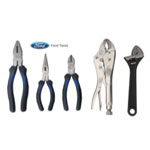 Ford Motor Company 5 Piece Plier Set With Locking Pliers And Adjustable Wrench