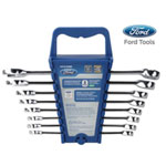 Ford Motor Company 8 Piece Combination Wrench Set, Metric