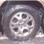 FilmTech Plastic Wheel Cover - Large Size