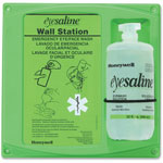"Fendall Company Eyewash Station, 14"" x 13"" x 4.5"", 32oz, Clear/Green"