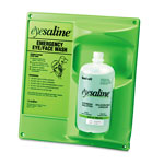 Eyesaline® Single Eye Wash Station, 13w x 4 1/2d x 14h