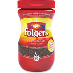 Folgers Instant Coffee, Folgers, Regular, Dark Brown