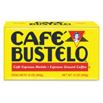 Cafe Bustelo Coffee, Espresso, 10 oz Brick Pack, 24/Carton