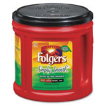 Folgers Classic Roast Coffees, 34.5oz., Simply Smooth