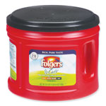Folgers Coffee, Half Caff, 25.4 oz Canister