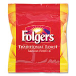 Folgers Ground Coffee Fraction Packs, Traditional Roast, 2oz, 42/Carton