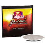 Folgers Gourmet Selections Coffee Pods, 100% Colombian Regular, 18/Box, 10 Bx/Carton