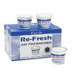 Fresh Products Re Fresh Gel Air Freshener, Water Based Formula, 4.6 oz. Container, Citrus