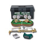 Firepower Cutskill Heavy Duty Oxygen and Acetylene Torch, Welding and Regulator Kit