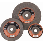 "Firepower 4"" x 1/8"" x 5/8"" Type 27 Depressed Center Grinding Wheel, 5 per Pack"