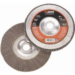 "Firepower 4-1/2"" x 5/8"" - 11NC Flap Wheel with Hub, 60 Grit"