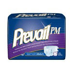"First Quality Prevail® PM Adult Brief, Medium 32"" -44"""