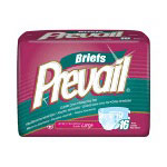 "First Quality Prevail® Premium Large Briefs, 45"" -58"", 16 Per Pack"