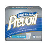First Quality Prevail® Male Guards with Adhesive Strip, 14 per Bag