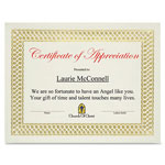 "First-Base Bond Certificates, 11"" x 8 1/2"", Classic Gold Foil"