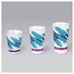 Solo Solo X16NJ Trophy XL Foam Cup w/Jazz Design, 16 Ounce