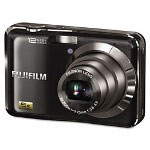 Fuji FinePix AX200 Digital Camera, 12MP, 5x Optical Zoom, Black