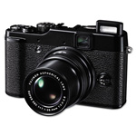 Fuji FinePix X10 Digital Camera, 12MP, 4x Optical Zoom; 2x Digital Zoom