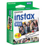Fuji Instax Wide Color Film Twin Pack, 800 ASA, 20-Exposure Roll