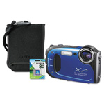 Fuji FinePix XP60 Waterproof Digital Camera Bundle, 16MP