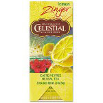 The Hain Celestial Group Herbal Lemon Zinger, 25 Total/Box