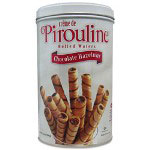 Debeukelaer Corporation Chocolate Hazelnut Pirouline Rolled Wafers, 14 oz