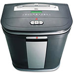 GBC® ShredMaster GSX168 Light-Duty Cross-Cut Shredder, Charcoal/Black